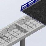 Cómo calcular diafragmas en puentes metálicos
