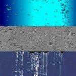 La permeabilidad del hormigón: un método para valorar cuánta agua o gases traspasa el hormigón.