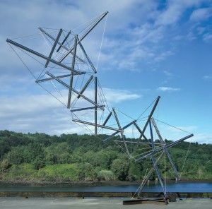 Dragón. Foto de Kenneth Snelson