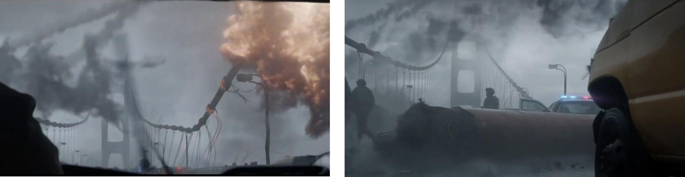 Golden Gate y Godzilla