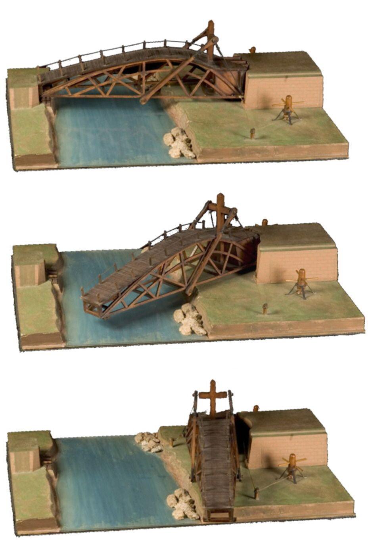 Puente giratorio Leonardo da vinci