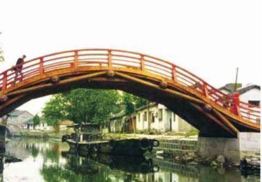 Replica actual del Puente Arco Iris