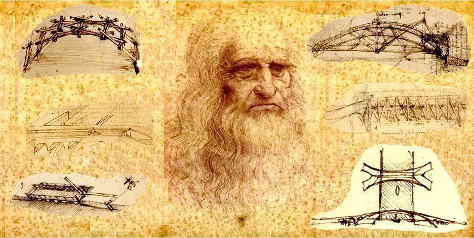 Los puentes de Leonardo Da Vinci