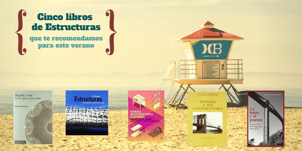 Cinco libros de estructuras que te