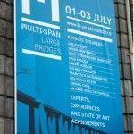 Estructurando en la conferencia Multi-Span Large Bridges en Oporto