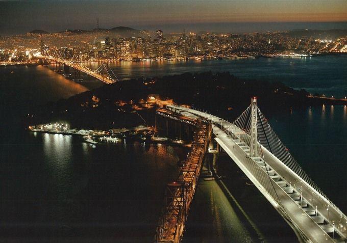 Puente entre San Francisco y Oakland