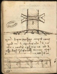 puente cuerno de oro de Leonardo da Vinci