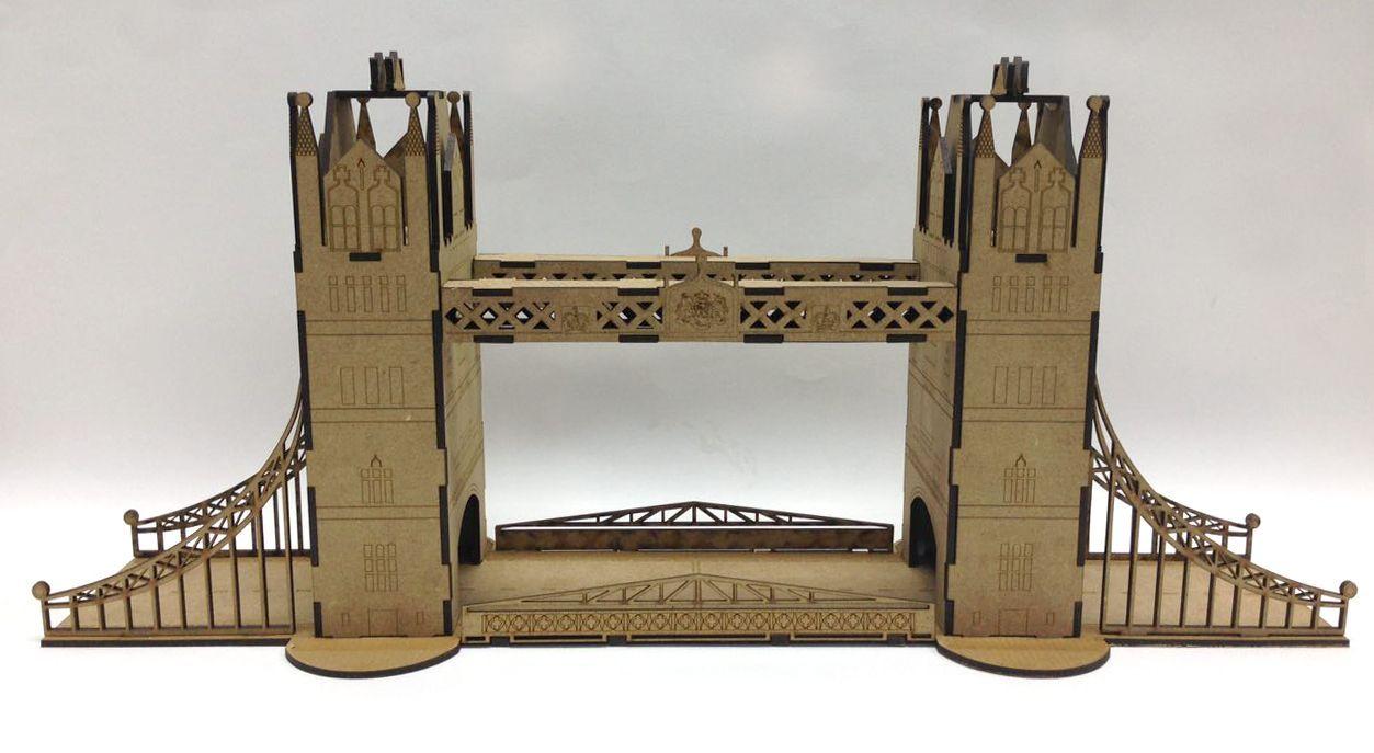 Maqueta Tower Bridge London1