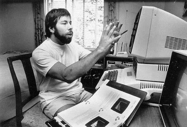 Steve Wozniak. Cofundador de Apple y sobre todo un verdadero hacker