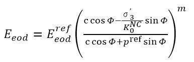 rigidez edométrica