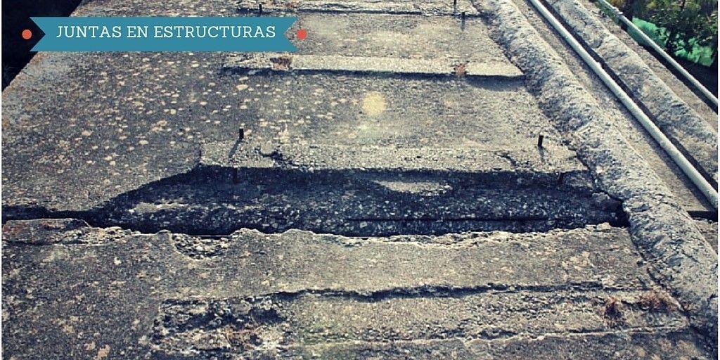 Junta de dilatación/retracción en puente de ferrocarril en desuso