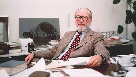William J. LeMessurier. Autor de la fotografía Bill Thoen